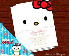 Hello Kitty - invitation