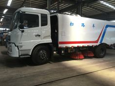 dongfeng 6000liters road sweeper truck