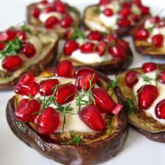 Hi everyone, here with another easy, delicious recipe for you. About 10 years ago, I was fortunate to be offered a job in Greece. What I thought was going to be a summer job running the kitchen for a yoga retreat turned into 6 amazing yea Whole 30 Recipes, Greek Recipes, Paleo Recipes, Baby Eggplant Recipes, Roast Eggplant, Juicy Fruit, My Best Recipe, Appetizers For Party, Popular Recipes