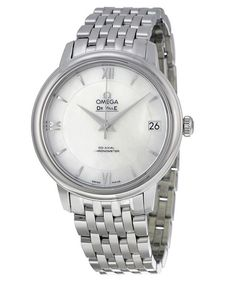 Omega DeVille Prestige Mother of Pearl Dial Stainless Steel Automatic Ladies Watch 424.10.33.20.05.001