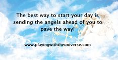 Sending your Angels ahead of you throughout your day is a fantastic way to work with your angels and making your day unfold in a better way. When you start working with your angels in such a way, you are …