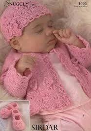 Resultado de imagen para knitting pattern 4 ply baby free