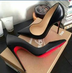 21st birthday present from my sisssyyy Stephanie Olson these shoes are a crime but beauty is pain! Christian Louboutin Peep Toe Pumps