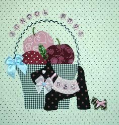 Block Craft, Basket Quilt, Block Of The Month, Hand Applique, Scottie Dog, Felt Ornaments, Cher, Quilt Blocks, Hamilton