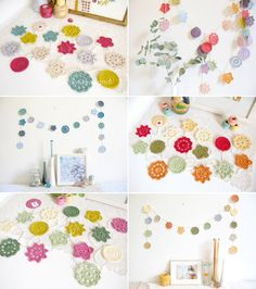 Forever Flower Garland PICK YOUR PALETTE - made to order | Emma Lamb