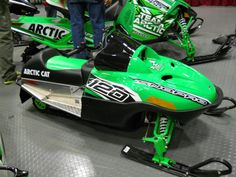 120 Youth Sno Pro Arctic Cat Snowmobile