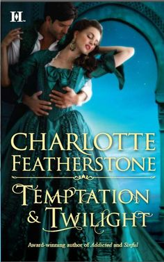 I love the covers for Charlotte Featherstone's The Brethren Guardians series.  Temptation & Twilight hits stores in June 2012