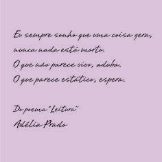 Adélia Prado Leitura