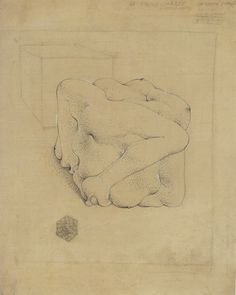 Hans Bellmer. Untitled (The Square Ball [The Cube]) 1945.