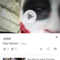 Hey guys here is a small clip of my joker!! Link is in the comments below! #makeup #makeupartist #mua #motd #makeupjunkie #spfx #blood #character #batman #joker #movie #dc #dccomics #comics #geek #cosplay #cosplaymakeup #creative #cool #photopftheday #art #artist #gotham #ilovecomics #villain