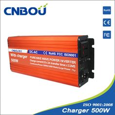 #24_volt_power_inverters   http://www.cnbou.com/pure-sine-wave-inverter-with-charger/500w-charger-inverter.html    Sine wave inverter output power is the same as we use every day or even better sine wave AC power because it does not exist in the electromagnetic pollution.