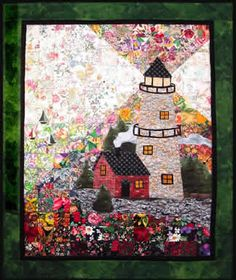 Lighthouse Watercolor Quilt Kit to Order