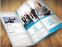 Corporate Tri Fold Brochure Template   Free Tri Fold Brochure
