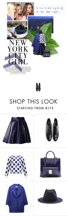 """""""Empire State of Mind"""" by loreley-lorey ❤ liked on Polyvore featuring MSGM, 3.1 Phillip Lim, Alexander McQueen, Balenciaga, Jacquemus, A.P.C., H&M and polyvoreeditorial"""