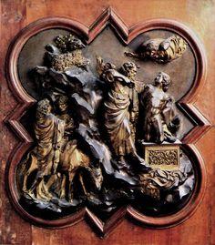 Filippo Brunelleschi: Sacrifice of Isaac 1401
