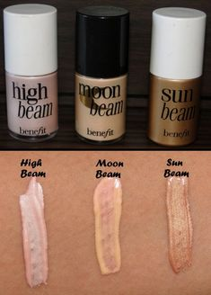 High beam is already one of my favorites I did not know about moon beam and sun beam, a must have now.