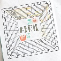 Oh my goodness! @bulletjournaladventure has just 100 followers. Can we please give her a bunch more? I think she deserves it after posting this amazing square #tracker. #Repost @bulletjournaladventure ・・・ APRIL TRACKER // Added Some details and color:hibi