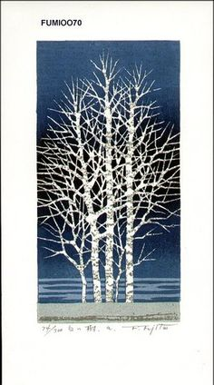 "White Tree ""A"" by Fumio Fujita"
