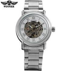Ambitious New Fashion Skeleton Black Steel Men Male Clock Shenhua Brand Hollow Cool Stylish Design Classic Mechanical Wrist Dress Watch Mechanical Watches