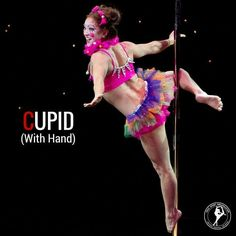 Cupid (with hand) - Pole Dance Move
