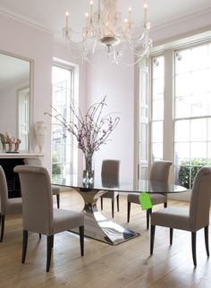 Buy Capricorn Dining Table By Tom Faulkner   Made To Order Designer  Furniture From Dering Hallu0027s Collection Of Contemporary Traditional  Transitional Dining ...