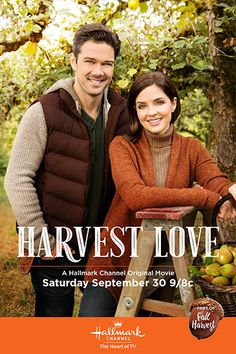 "Its a Wonderful Movie - Your Guide to Family and Christmas Movies on TV: Harvest Love - a Hallmark Channel ""Fall Harvest"" Movie starring Jen Lilley and Ryan Paevey!"