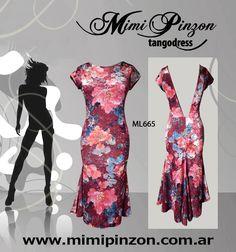 Vestido Tango Salón ml665
