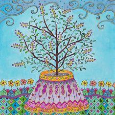 Tulasi Maharani - by #Lokamata #art #doodle #drawing