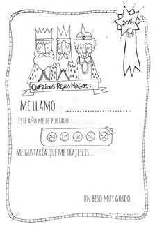 Carta a los Reyes para imprimir