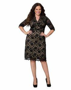 black long sleeve dress size 20 | ivo hoogveld