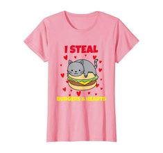 Amazon.com: Valentines Day Humorous Cat I Thieve Hearts Burger Meals Lover T-Blouse: Clothes.  #valentinesday #items #middle #animallovers #Istealheart  #forgirlfriend #forteens #valentinedayshirts  #matchingcouple #mycatismyvalentine #catvalentineshirt  #cat #petowners #meow #unmarried #novalentine #antivalentine #foodie #fastfood