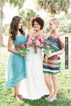 boho chic bridesmaid | CHECK OUT MORE IDEAS AT WEDDINGPINS.NET | #bridesmaids