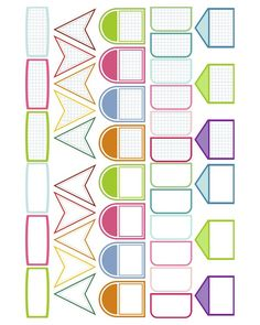 Free Printable Little Labels for Project Life from scrappystickyinkymess