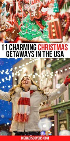 Christmas Getaways, Christmas Destinations, Christmas Travel, Holiday Travel, Holiday Fun, Christmas Trips, Christmas Vacation, Vacation Destinations, Vacations