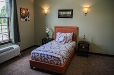 One man turned nursing home design on its head when he created this stunning facility. Assisted Living Facility, Group Home, Aged Care, Senior Living, House Rooms, Home Bedroom, Bedrooms, Room Decor, House Design