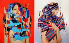 Graphic and Colorful Portraits by Erik Jones