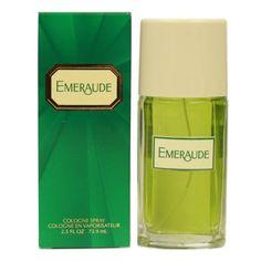 Emeraude Cologne Spray 2.5 Oz / 75 Ml, Multicolor