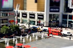 20 Beautiful Examples of Tilt Shift Photography | Part 2 - UltraLinx   Real wold photo taken to mimic models