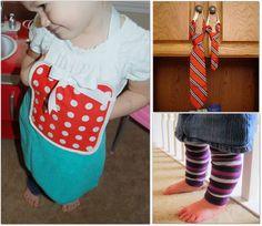 repurposed kids clothing patterns - for boys ties, shirts DIY :)