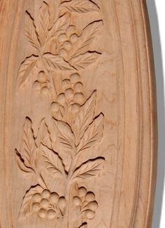 wood carving patterns | Brookdale Wood Caving and Oval Maple Wood Carving