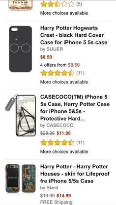 Harry Potter iPhone 5/5s phone case. I NEED IT