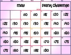 Change the month if you would like to start this challenge on a different month but keep the days the same. See what happens to your body, after you try this challenge. Adding this to my April butt challenge! Fitness Motivation, Fitness Diet, Health Fitness, Fitness Fun, Plank Fitness, Fitness Gear, Workout Fitness, 30 Day Plank Challenge, Workout Challenge