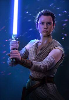 Rey, The Force Awakens