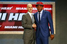 The Justise Winslow experience begins now! Miami Heat fans.. Are you ready?