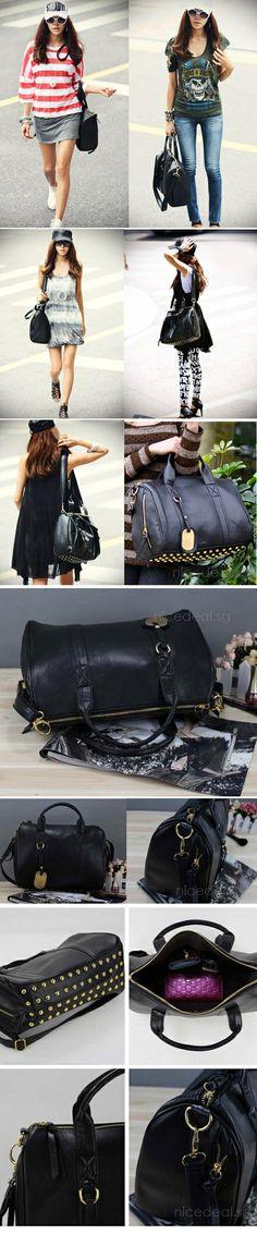$19.90 for Korean Fashion Studded Bucket Handbag Sling Shoulder Bag (BN0015); Limited Stock Offer! | Singapore Group Buying - NiceDeal.SG ni...