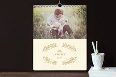 Cadence Grand Calendars by Lori Wemple at minted.com