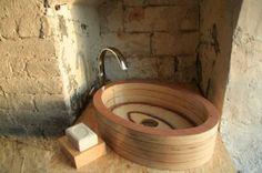 Lavabos de madera: una tendencia en alza   Decorar tu casa es facilisimo.com