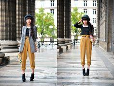 Chic  Boyish  (by Leeloo P) http://lookbook.nu/look/4125652-Chic-Boyish