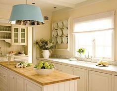 Kitchen - love the wooden benchtop