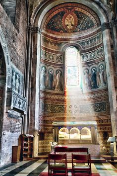Church of Sant'Antonino, Italy, province of Piacenza , Emilia Romagna region.